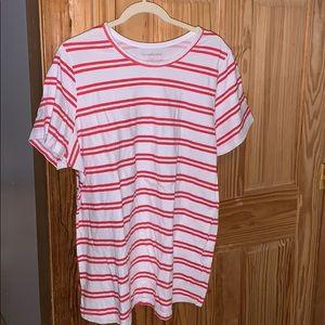 Women's Plus Size 22/24 Short Sleeve Tee Lane Brya